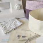 Taller aprende a coser fundas con cremallera